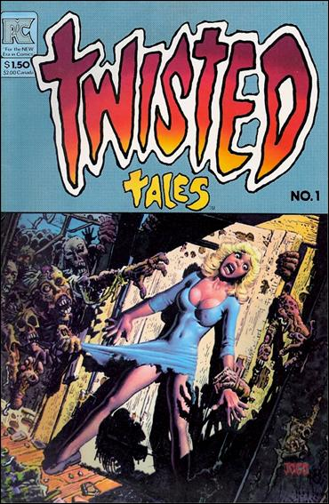 Twisted Tales (1982) 1-A by Pacific