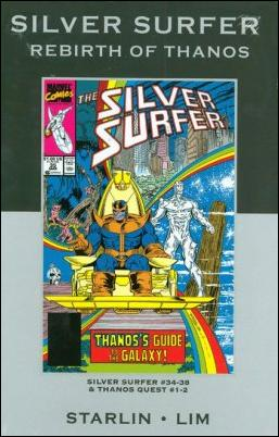 Silver Surfer: Rebirth of Thanos nn-B by Marvel