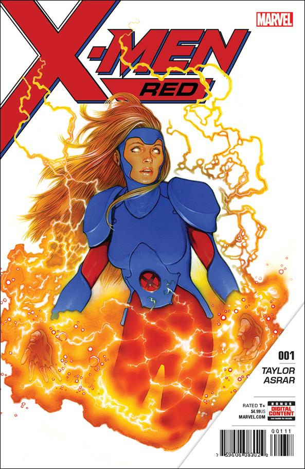 X-Men: Red 1-A by Marvel
