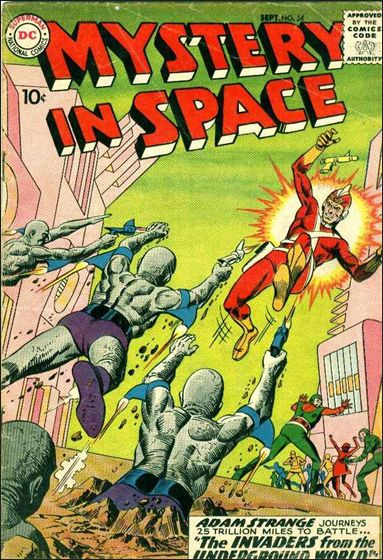 Mystery in Space (1951) 54-A by DC