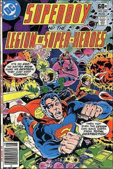 Superboy and the Legion of Super-Heroes 242-A by DC