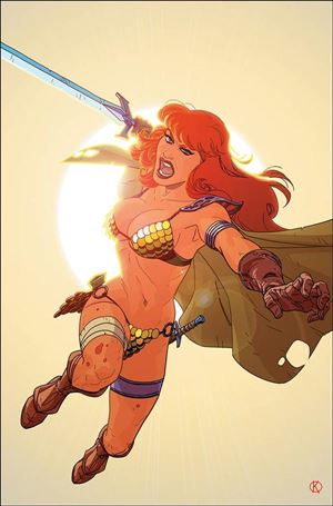 Red Sonja: The Superpowers 4-O