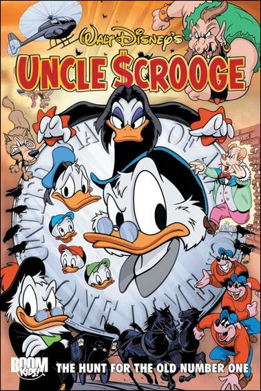 Uncle Scrooge: The Hunt for the Old Number One 1-A by Boom! Kids