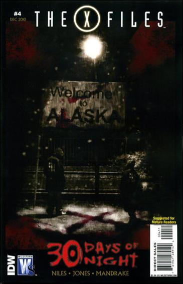 X-Files/30 Days of Night 4-A by WildStorm