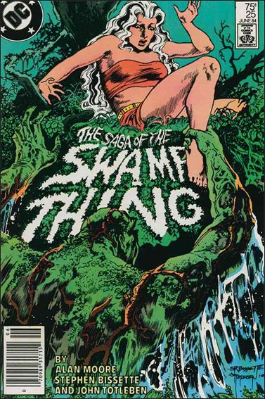 Saga of the Swamp Thing 25-A by DC