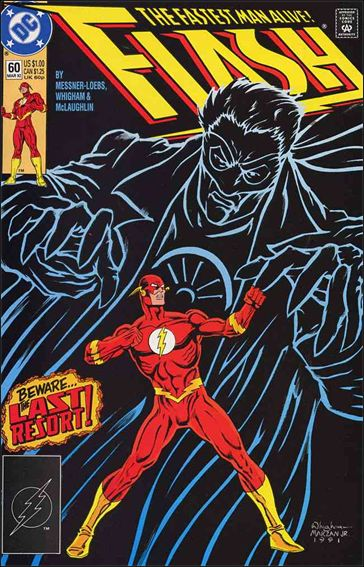 Flash (1987) 60-A by DC
