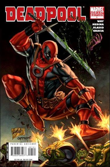 Deadpool (2008) 1-B by Marvel