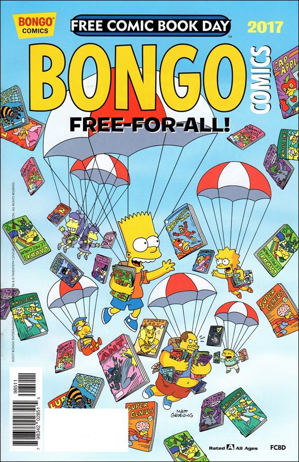 Bongo Comics Free-For-All! 2017-A by Bongo