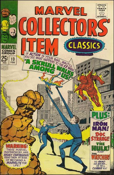 Marvel Collectors' Item Classics 13-A by Marvel