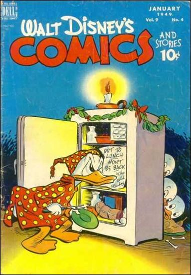 Walt Disney's Comics and Stories (1940) 100-A by Dell