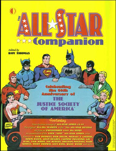 All-Star Companion 1-A by TwoMorrows