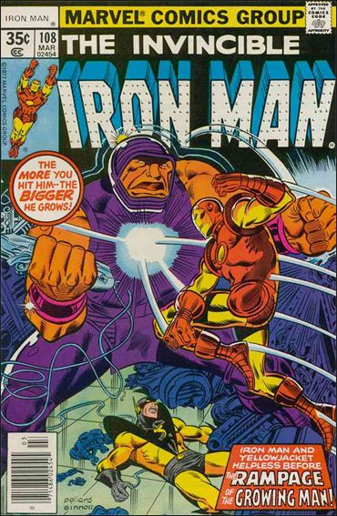 Iron Man (1968) 108-A by Marvel