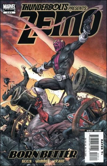 Thunderbolts Presents: Zemo - Born Better 3-A by Marvel