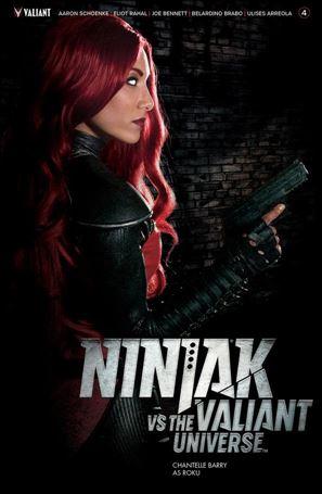 Ninjak vs the Valiant Universe 4-C
