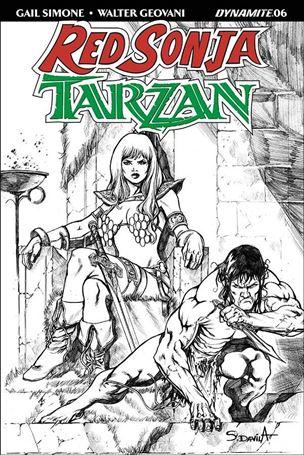 Red Sonja / Tarzan 6-F