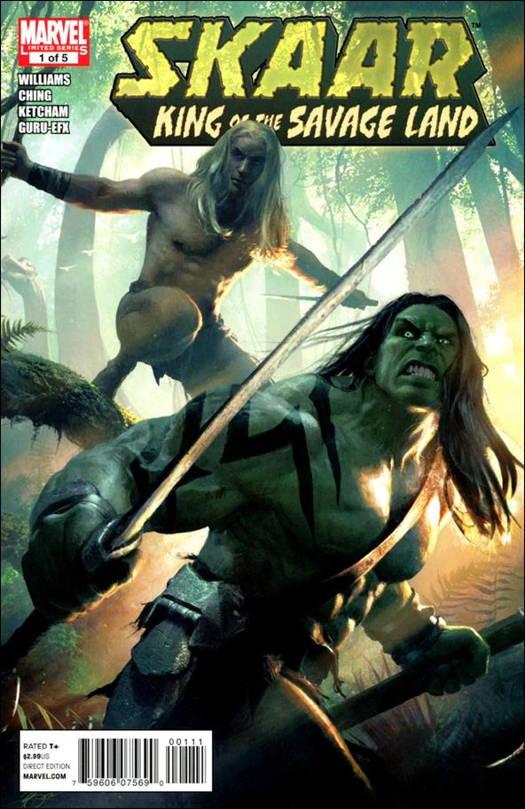 Skaar: King of the Savage Land 1-A by Marvel