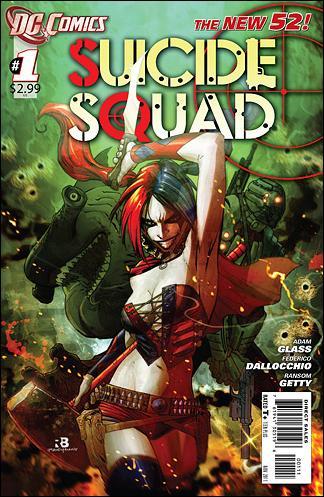 Suicide Squad (2011) 1-A by DC