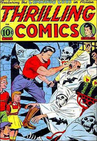 Thrilling Comics (1940) 52-A by Standard