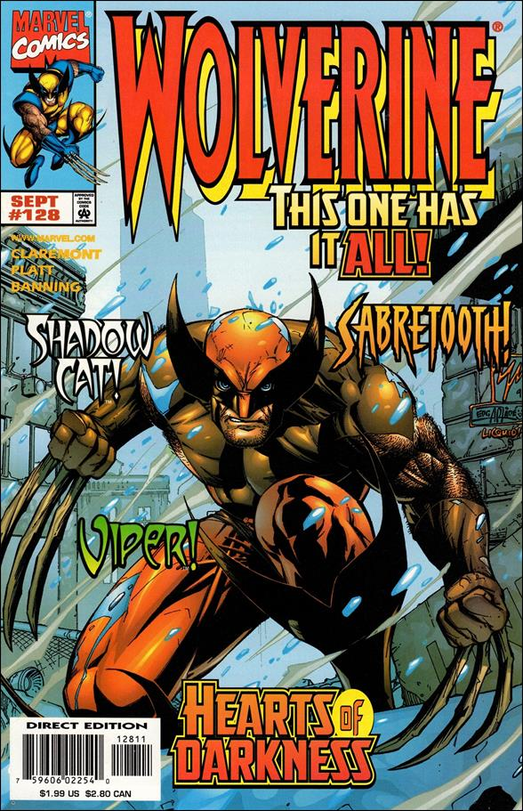 Wolverine (1988)  128-A by Marvel