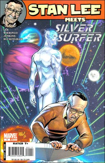 Stan Lee Meets Silver Surfer 1-A by Marvel