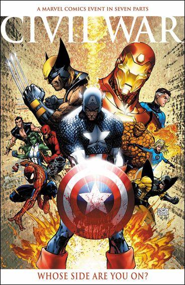 Civil War 1-B by Marvel