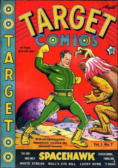 Target Comics (1940) 7-A by Novelty Press