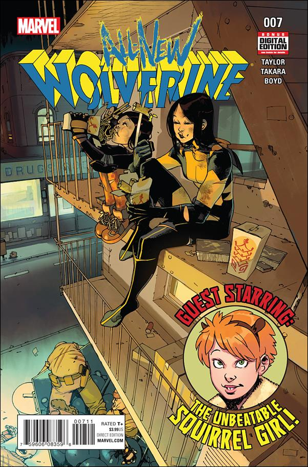 All-New Wolverine  7-A