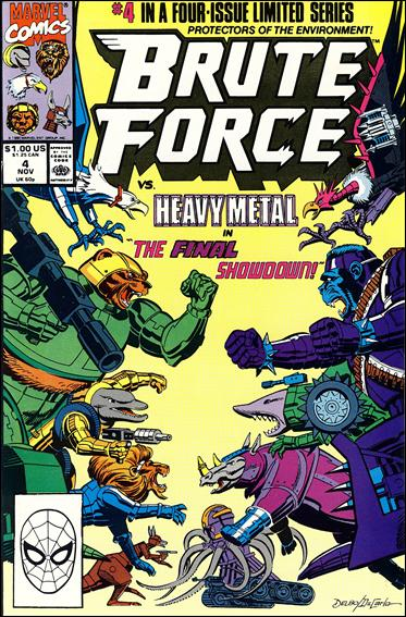 Brute Force 4-A by Marvel