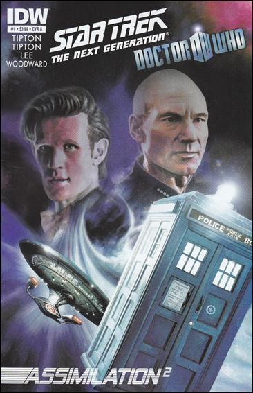Star Trek: The Next Generation / Doctor Who: Assimilation2 1-A by IDW