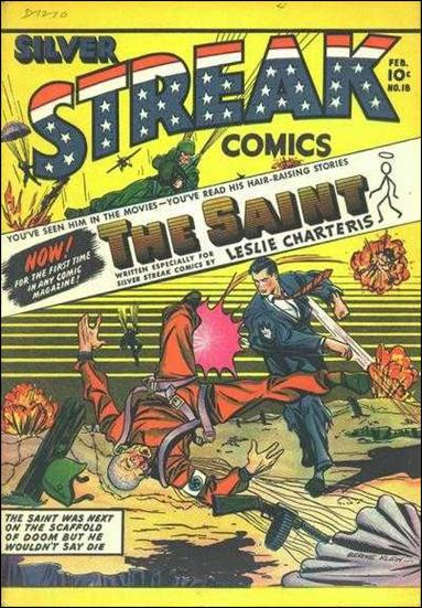 Silver Streak Comics (1939) 18-A by Lev Gleason Productions