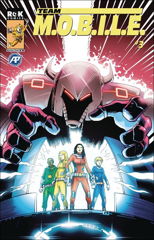 Team M.O.B.I.L.E. 3-A by ROK Comics