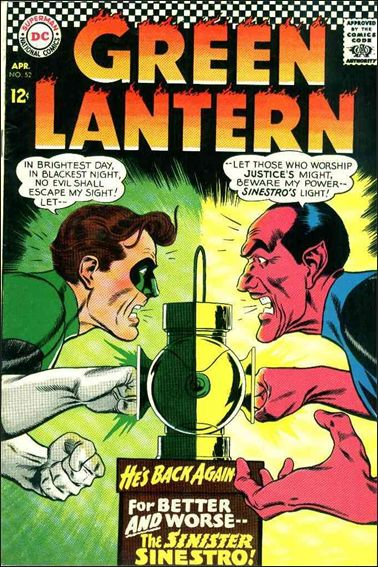 Green Lantern (1960) 52-A by DC