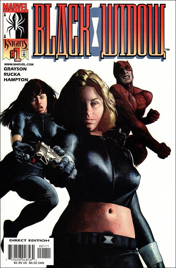 Black Widow (2001) 1-A by Marvel