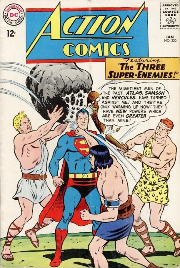 Action Comics (1938) 320-A by DC