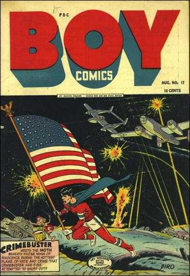 Boy Comics 17-A by Lev Gleason Productions