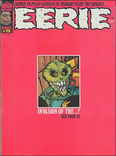 Eerie 75-A by Warren