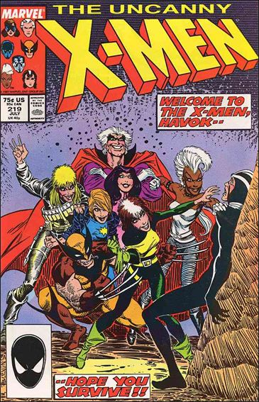 Uncanny X-Men (1981) 219-A by Marvel