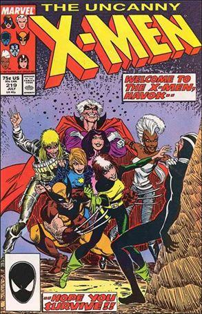 Uncanny X-Men (1981) 219-A