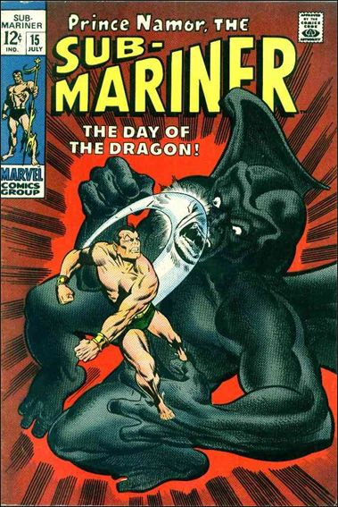 Sub-Mariner (1968) 15-A by Marvel