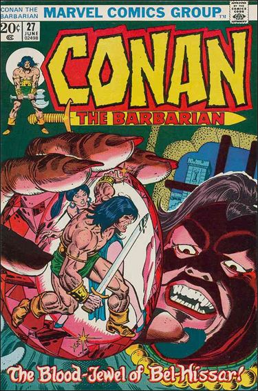 Conan the Barbarian (1970) 27-A by Marvel