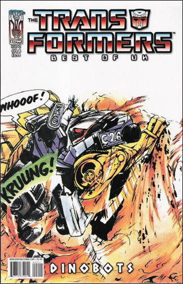 Transformers: Best of UK - Dinobots 2-B by IDW