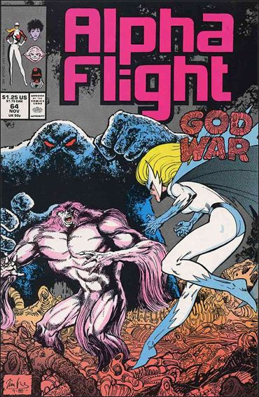 Alpha Flight (1983) 64-A by Marvel