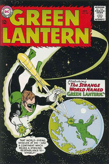 Green Lantern (1960) 24-A by DC