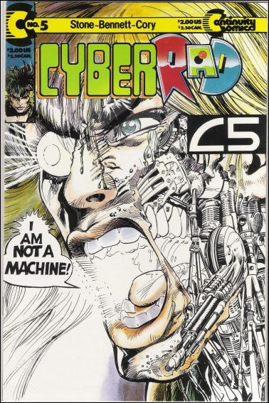 CyberRad (1991) 5-A by Continuity Comics