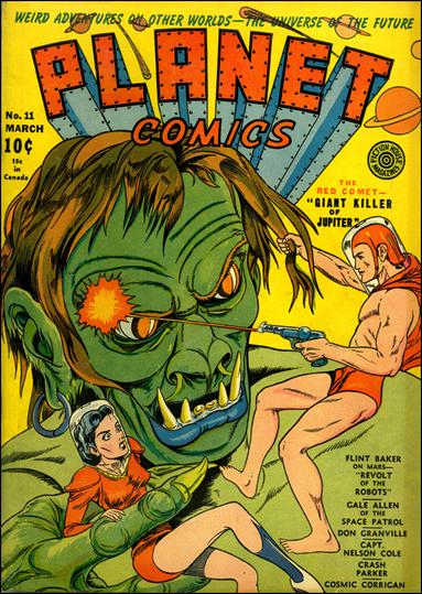 Planet Comics (1940) 11-A by Fiction House Magazines