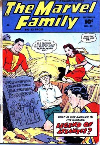 Marvel Family 39-A by Fawcett