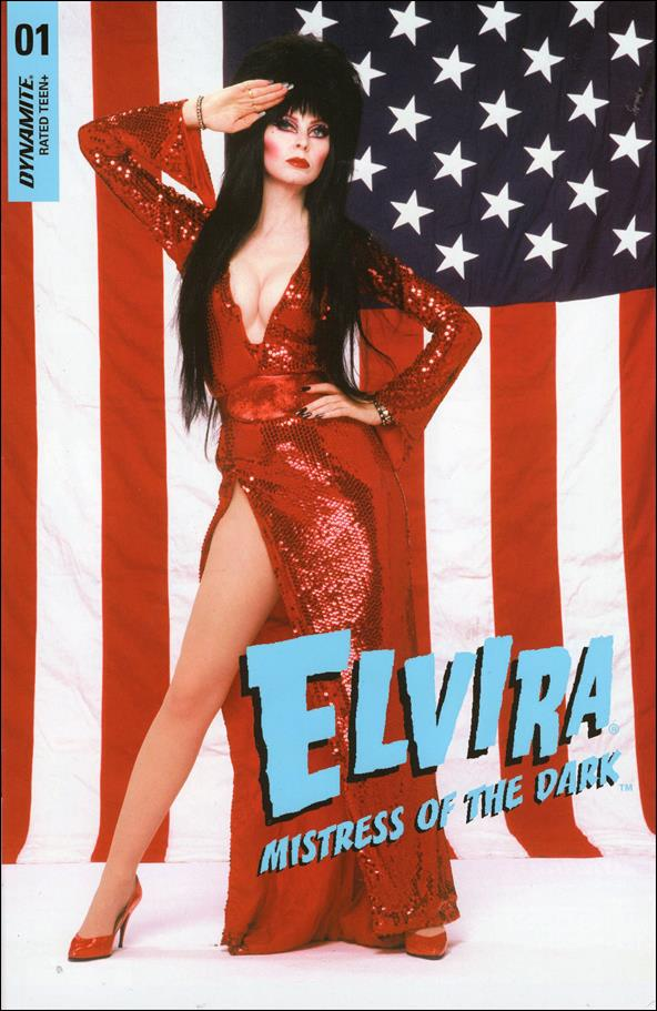 Elvira, Mistress of the Dark (2018) 1-Q by Dynamite Entertainment
