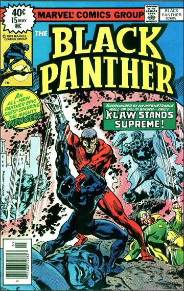 Black Panther (1977) 15-A by Marvel