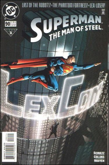 Superman: The Man of Steel 90-A by DC