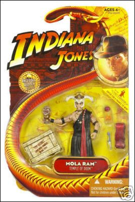 "Indiana Jones Basic 3 3/4"" Action Figures  Mola Ram  by Hasbro"